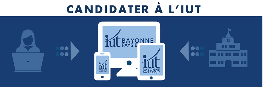 iut bayonne candidater