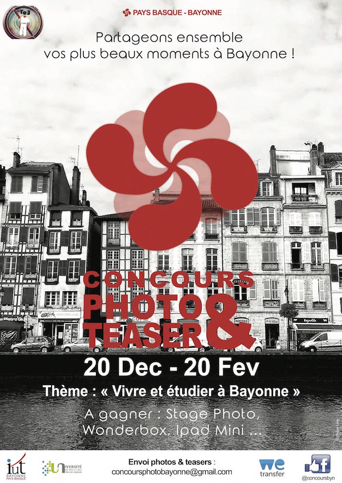 concours photo et vid o vivre et tudier bayonne. Black Bedroom Furniture Sets. Home Design Ideas