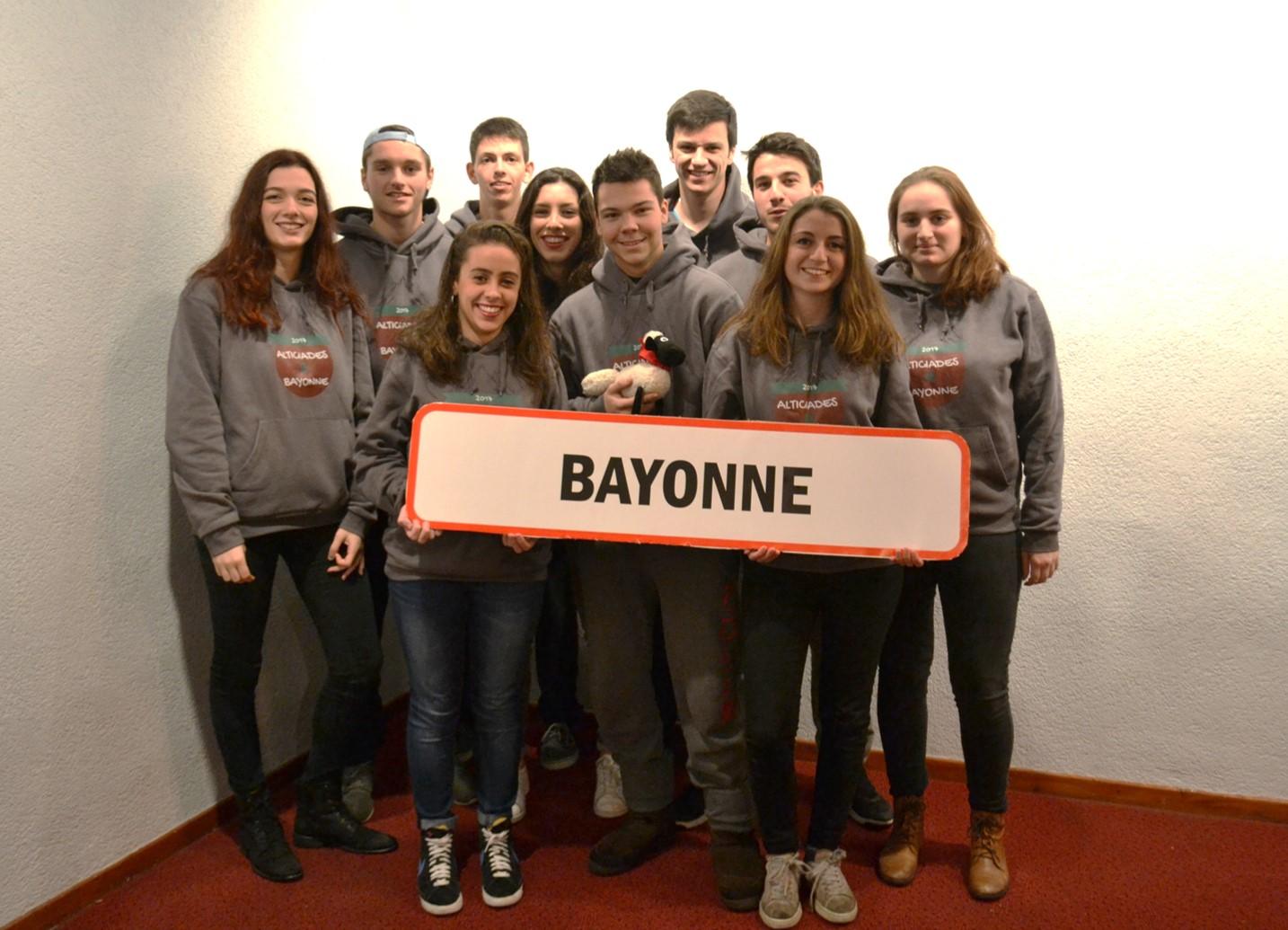 Tc2 Aliticades 2017 L Equipe De Bayonne Termine 6eme Au Classement